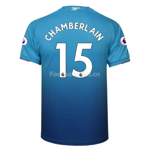 Arsenal Away CHAMBERLAIN #15 Soccer Jersey 2017/18